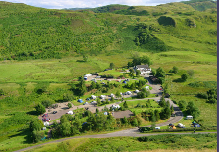 Oban Divers Caravan Park - Click to enlarge