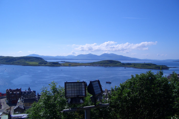 View of Mull from Oban
